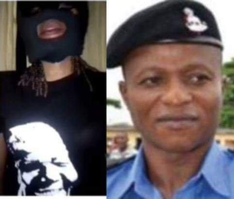 LAGOS POLICE: UNMASK THE MASKED LADY GET ONE MILLION NAIRA REWARD